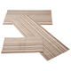 Berber 3-Piece Stripe Rug Set