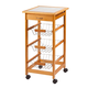 Home Marketplace Rolling Kitchen Cart