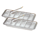 Aluminim Ice Cube Tray Set of 2