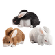 Resin Bunny Statues Set of 3
