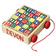 Personalized Wooden Blocks and Cart