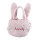 Personalized Easter Bunny Coin Purse