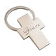 Personalized Cross Key Ring
