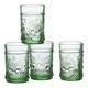William Roberts Pressed Juice Glasses Set of 4