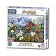 Song Birds Spring Gathering Puzzle 550 Pc.