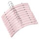 Satin Hangers - Set Of 10