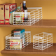 Pantry Storage Caddy Set - Set Of 3, White