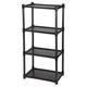 Snap Together Shelves, Black