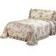 Giverny Plisse Bedspread