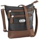 B.AmiciTM Bianca RFID Leather Crossbody Bag