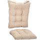Gingham Rocker Cushion Set