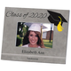 Personalized 2019 Graduation Frame Horizontal 2 Lines of Personalization