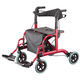 Rollator and Transport Chair in 1            XL