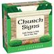 Church Signs Desk Calendar