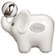 Personalized Ceramic White Elephant Bank