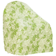 Leaf Pattern Quilted Chair Cover, 33