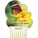 Mini Magnetic Calendar Monarch Butterfly