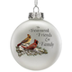 Treasured Friends Glass Ball Ornament by Holiday PeakTM