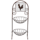 2 Tier Rooster Stand by Home Marketplace