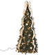 4' Silver & Gold Pull-Up Tree by Holiday PeakTM