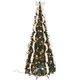 7' Silver & Gold Pull-Up Tree by Holiday PeakTM XL