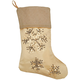 Silver & Gold Stocking by Holiday PeakTM