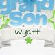 Personalized Grandson Ornament Personalization
