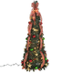 4' Plaid Pull-Up Tree by Holiday PeakTM