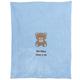 Personalized Teddy Bear Baby Blanket