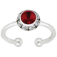 Swarovski Crystal Birthstone Adjustable Ring