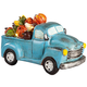 Resin Harvest Blue Truck with Lights by Fox River Creations™