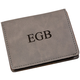 Personalized Grey Wallet