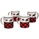 Aberdeen Scottie Mugs Set of 4