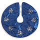Frosted Winter Style Snowflake Tree Skirt by Holiday Peak™  20 Inch