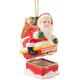 Santa Chimney Trinket Box