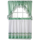 Ivy Curtain Set, 3 Pieces