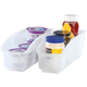 Roll Out Plastic Storage Bins Set of 2 by Chef's Pride