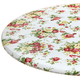 Country Rose Elasctized Vinyl Table Cover by Chef's Pride