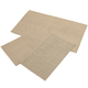 Rugby Solid Colored Rug by Oakridge®, Sand Set of 3