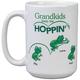 Personalized Grandkids Keep Me Hoppin' Mug