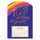 Religious Magnetic Calendar Purple