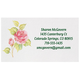 Personalized Rose Business Cards, Set of 200