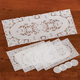 9-Pc. Vinyl Table Runner And Placemat Set