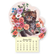 Kitten Mini Magnetic Calendar