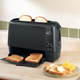 West Bend Quick Serve Toaster, Black