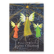 Joyous Angel Trio Christmas Card, Set of 20