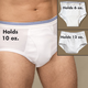 Men's Incontinence Brief - 6 Oz.
