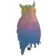 Owl Reflector, Multicolor