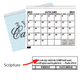 2012-2014 3 Year Calendar Scripture Version