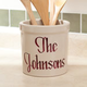 2 Quart Personalized Stoneware Crock
